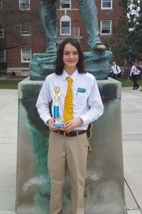 Cody Fouts - 1st Place - Computer Problem Solving