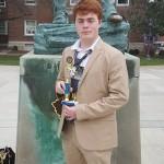 Zach Rice - 2nd Place - Economics
